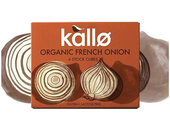 Kallo Organic French Onion 6 Stock Cubes