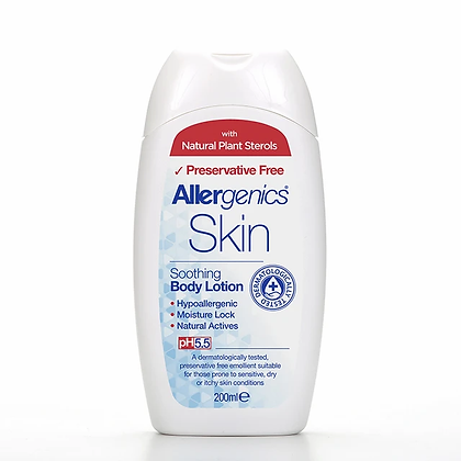 Allergenics Soothing Body Lotion 200ml