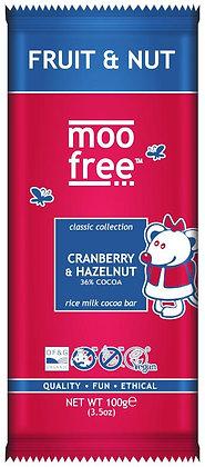 Moo Free Organic Dairy Free Classic Fruit & Nut Bar