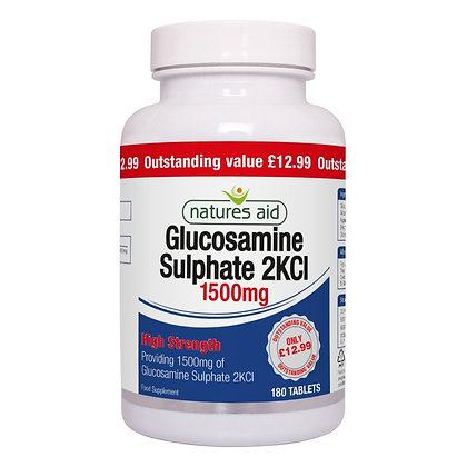 Natures Aid Glucosamine Sulphate 1500mg 180 Tablets