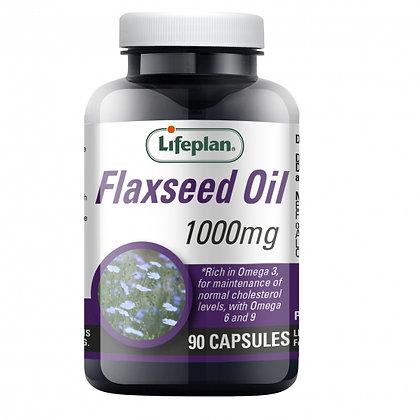 Lifeplan Flaxseed Oil 90 Capsules 1000mg