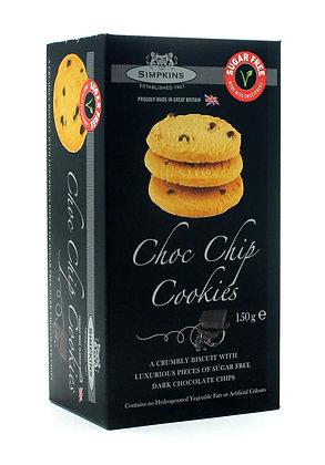 Simpkins Sugar Free Chocolate Chip Cookies 150g