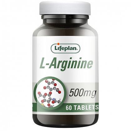Lifeplan L-Arginine 60 Tablets