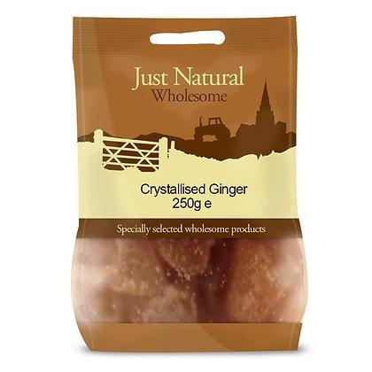 Just Natural Crystallised Ginger 250g