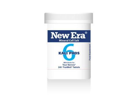 New Era No.6 Kali Phos 240 Tablets