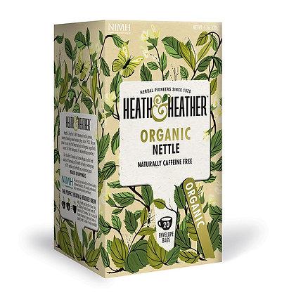 Heath & Heather Organic Nettle 20 Bags