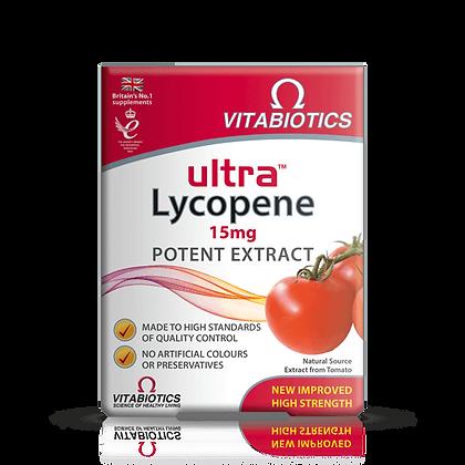 Vitabiotics Ultra Lycopene 15mg30 Tablets