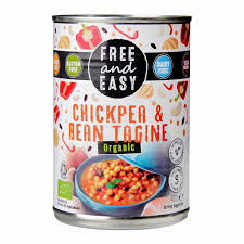 Free and Easy Organic Chickpea & Bean Tagine 400g
