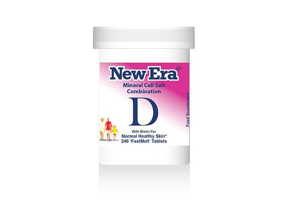 New Era Combination D 240 Tablets