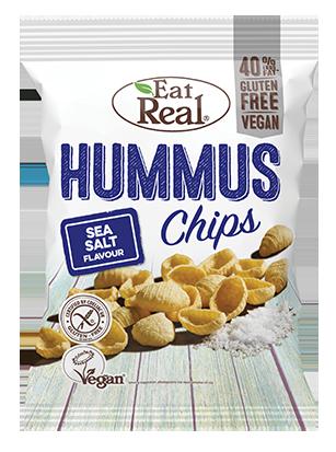 Eat Real Sea Salt Hummus Chips 135g