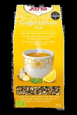 Yogi Tea Organic Ginger Lemon Chai 17 Tea Bags