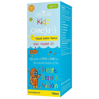 Natures Aid Kidz Omega-3 150ml