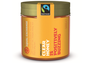 Equal Exchange Organic Raw Clear Honey 500g