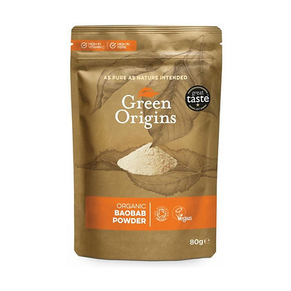 Green Origins Organic Baobab Powder 80g