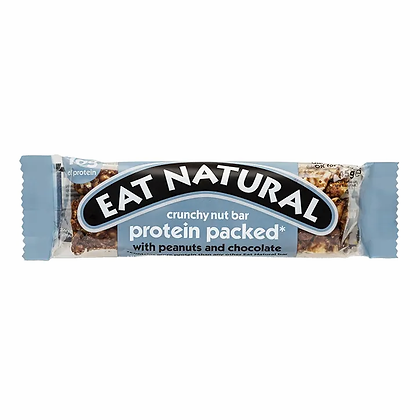 Eat Natural Bar Protein Packed with Peanuts and Chocolate