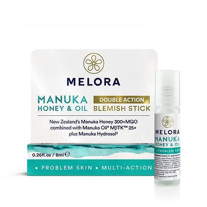 Melora Manuka Honey & Oil Double Action Blemish Stick