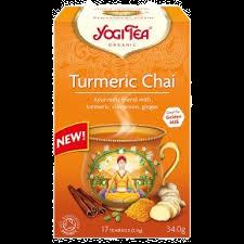 Yogi Tea Turmeric Chai 17 Tea bags
