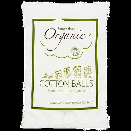 Simply Gentle Organic 100 Cotton Balls