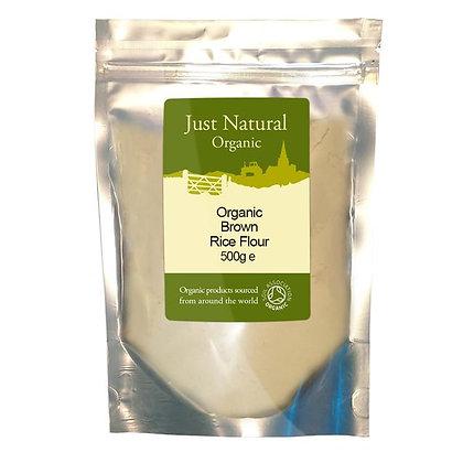 Just Natural Organic Brown Rice Flour 500g