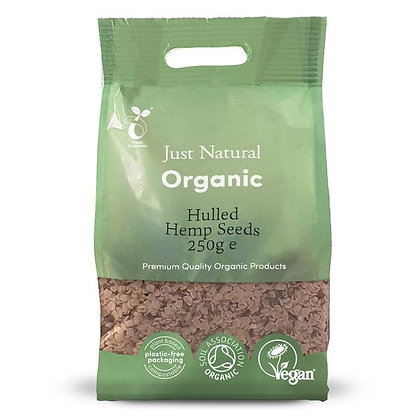 Just Natural Organic Hemp Seeds Hulled 250g