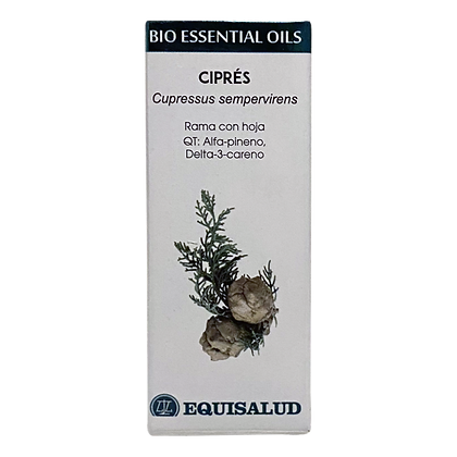 Equisalud Organic Cypress Bio Essential Oil 10ml