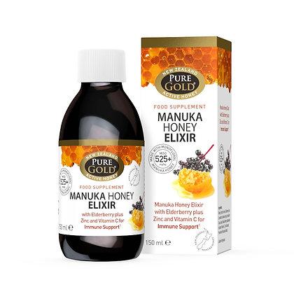 Pure Gold Manuka Honey Elixir 150ml