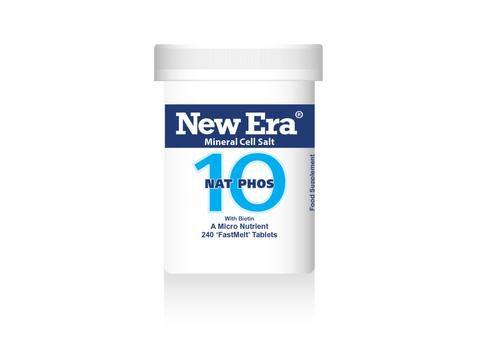 New Era No.10 Nat Phos 240 Tablets
