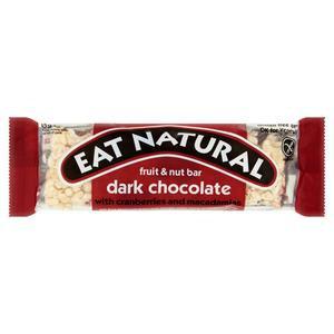 Eat Natural Bar Dark Chocolate with Cranberries and Macadamias