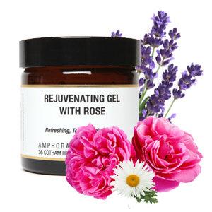Amphora Aromatics Rejuvenating Gel With Rose 60ml