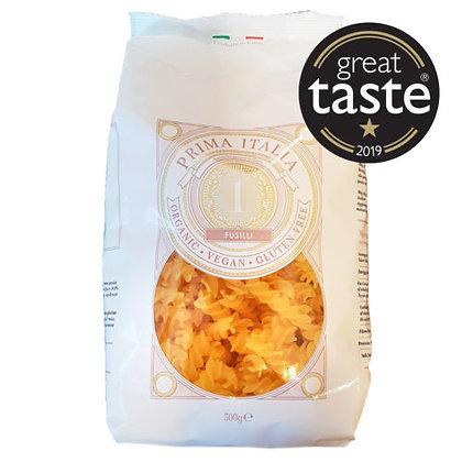 Prima Italia Organic Gluten Free Fusilli 500g