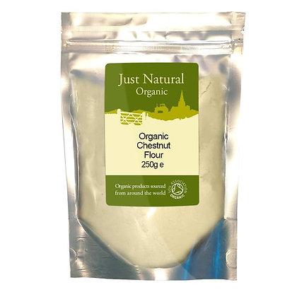 Just Natural Organic Chestnut Flour 250g