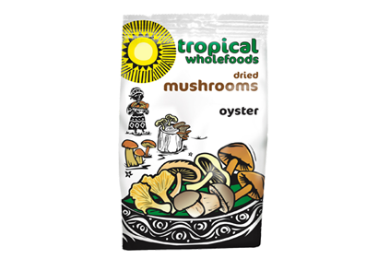 Tropical Wholefoods Oyster Dried Mushrooms 25g