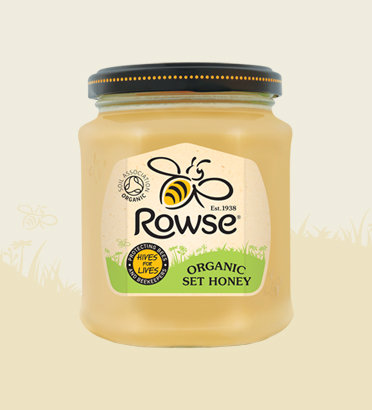Rowse Organic Set Honey 340g