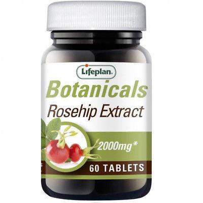 Lifeplan Rosehip Extract 2000mg 60 Tablets