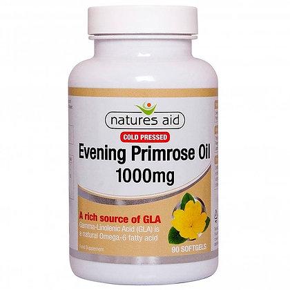 Natures Aid Evening Primrose Oil 1000mg 180 Softgels
