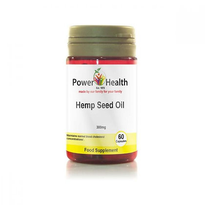 Power Health Hemp Seed Oil 300mg 120 Capsules