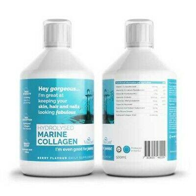 Vitazam Hydrolysed Marine Collagen 500ml