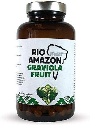 Rio Amazon Graviola Fruit 120 Capsules