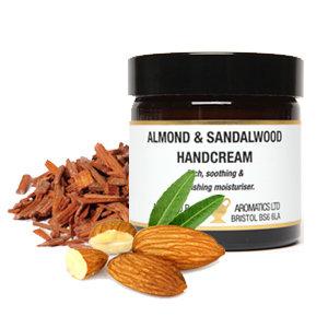 Amphora Aromatics Almond & Sandalwood Hand Cream 60ml