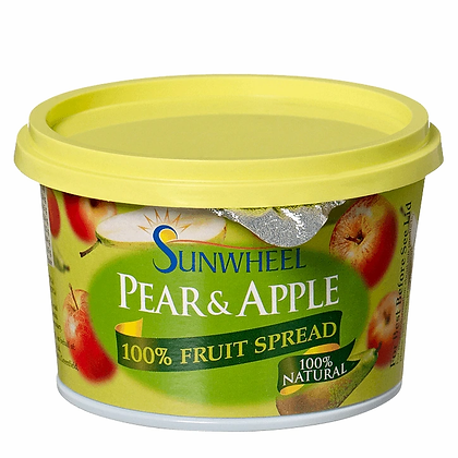 Sunwheel 100 Fruit Spread Pear & Apple