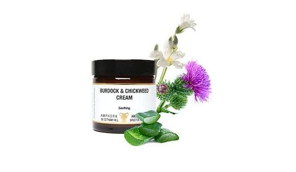 Amphora Aromatics Burdock & Chickweed cream 60ml