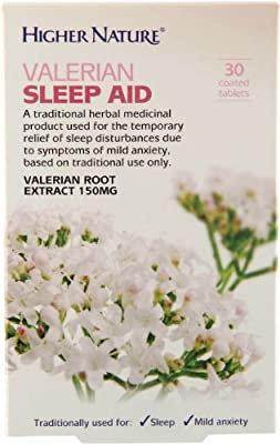 Higher Nature Valerian Sleep Aid 30 Tablets