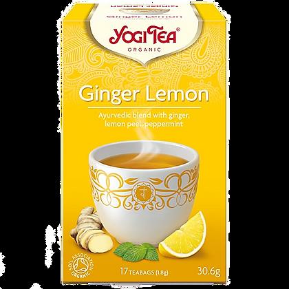 Yogi Tea Ginger Lemon 17 Tea Bags