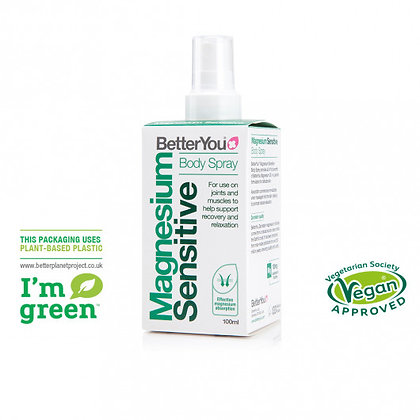 BetterYou Magnesium Sensitive Body Spray 100ml