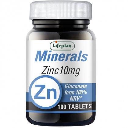 Lifeplan Zinc (Gluconate) 100 Tablets
