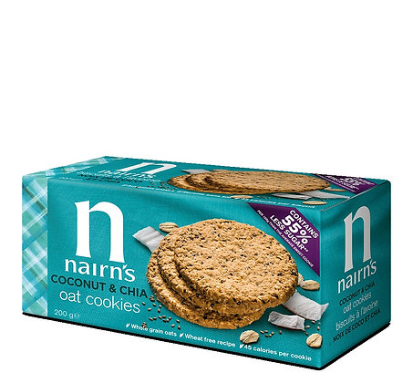 Nairn's Coconut & Chia Oat Biscuits 200g