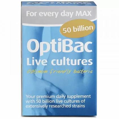 Optibac For Everyday Maximum Strength 30 Capsules