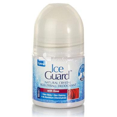 Optima Ice Guard Natural Crystal Deodorant Rose 50ml