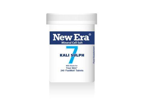 New Era No.7 Kali Sulph 240 Tablets