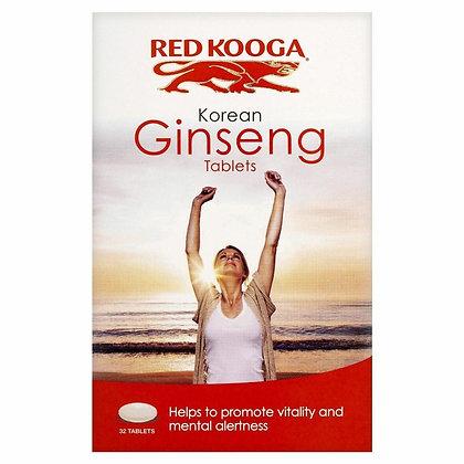 Red Kooga Korean Ginseng 32 Tablets